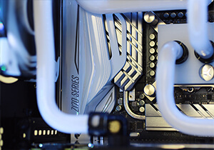 Avalanche II hardline liquid cooled gaming pc