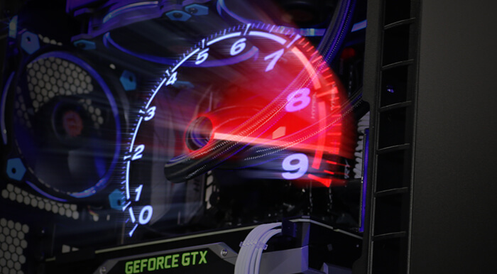 overclock your Avalanche 2 Gaming PC