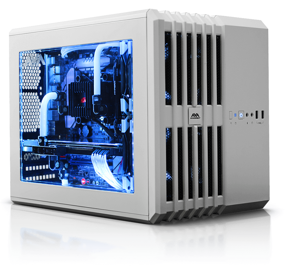 buy hardline liquid cooled mini gaming PC online