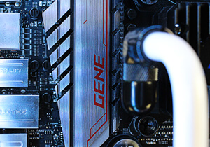 Avalanche Mini hardline liquid cooled custom gaming pc