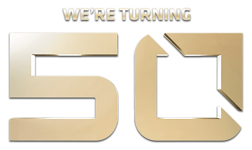 We\'re turning 50