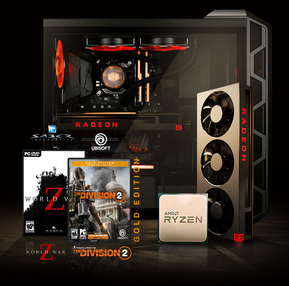 Ryzen and Radeon Gaming bundle