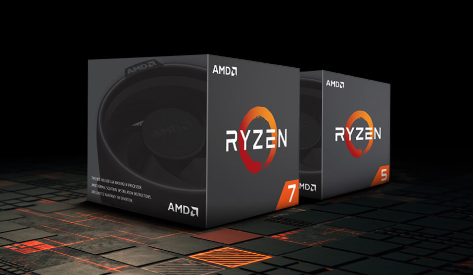 AMD 2nd Gen Ryzen processors