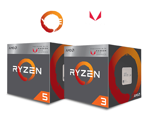 AMD Ryzen Desktop APU box
