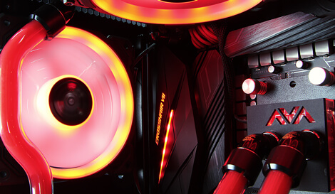 Brimstone gaming pc case cooling