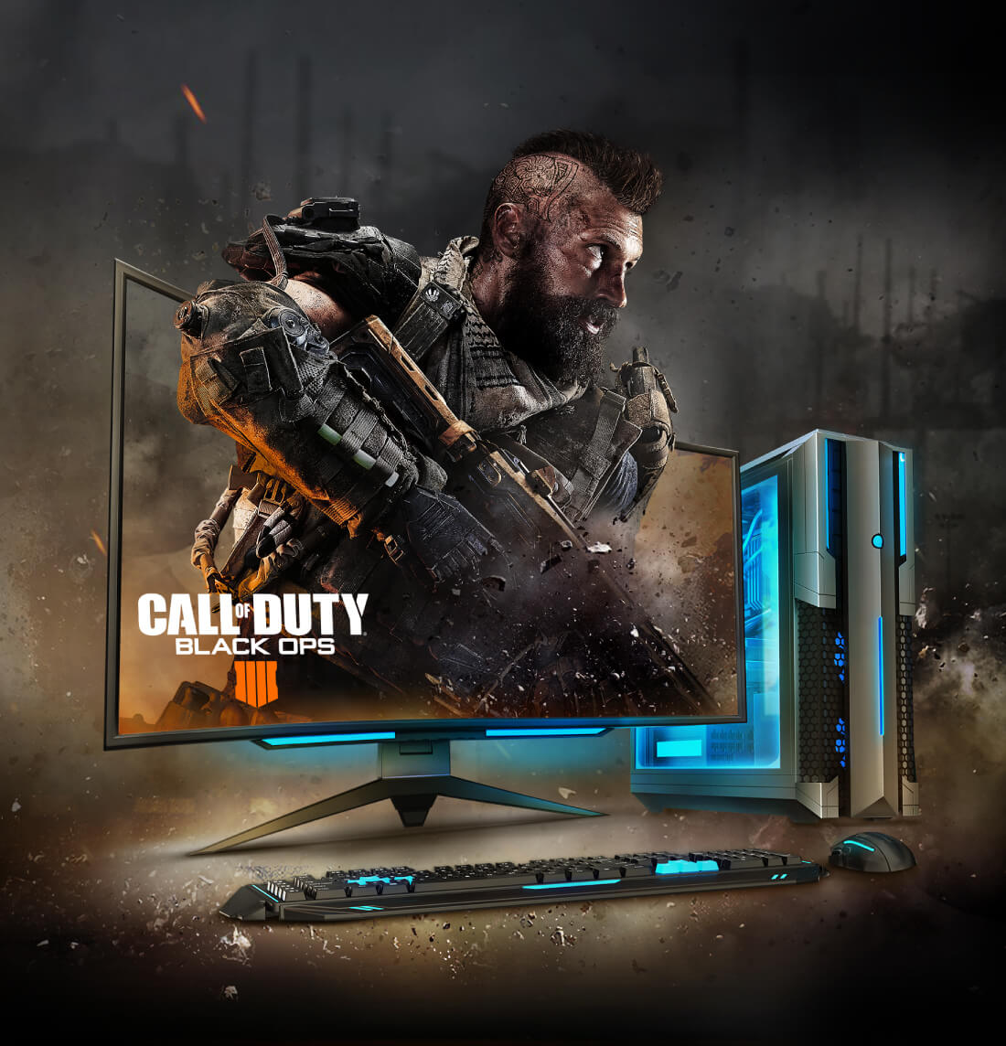 Call of Duty®: Black Ops 4 - Intel Gaming Bundle | AVADirect