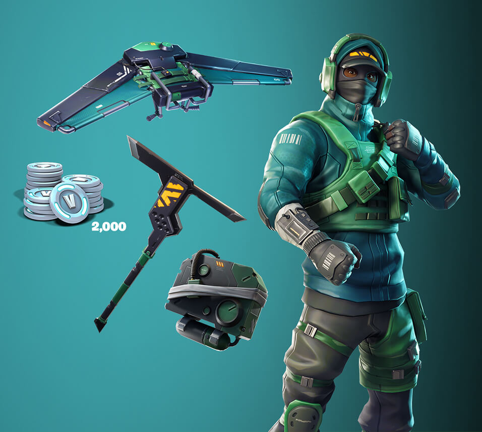 Fortnite Counterattack Set