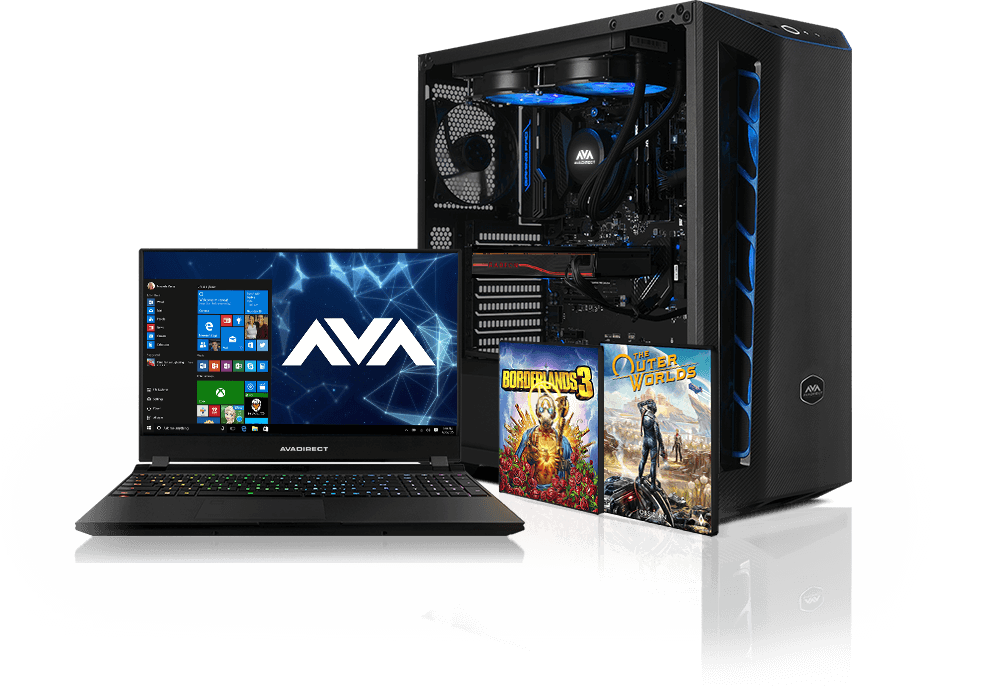 AVADirect Gaming PC and Laptop
