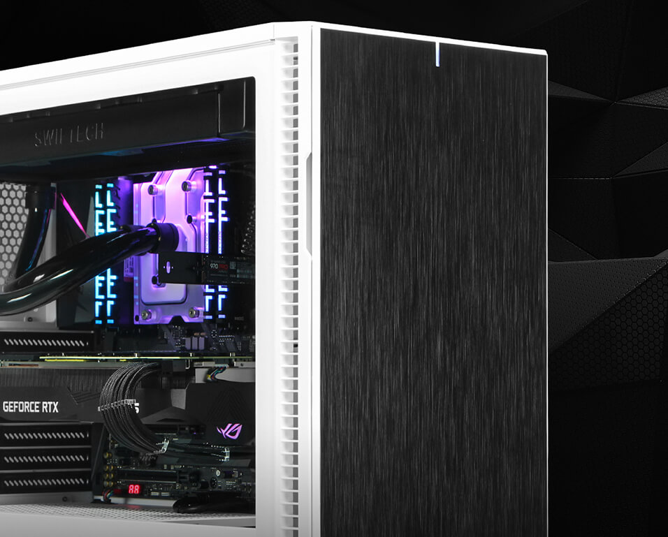 AMD Ryzen Threadripper Liquid-Cooled Workstation