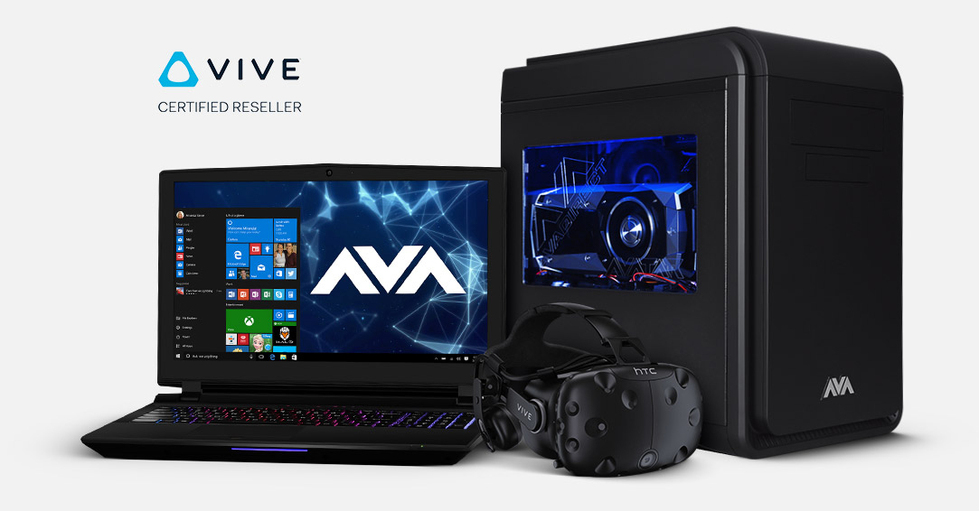 VR Gaming PC, laptop and VR Headset