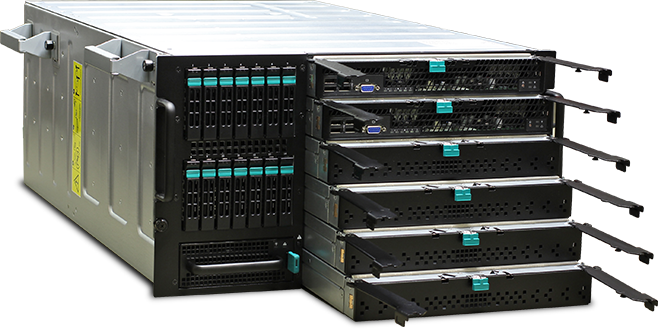 AVADirect blade server for DOD and government contractor applications