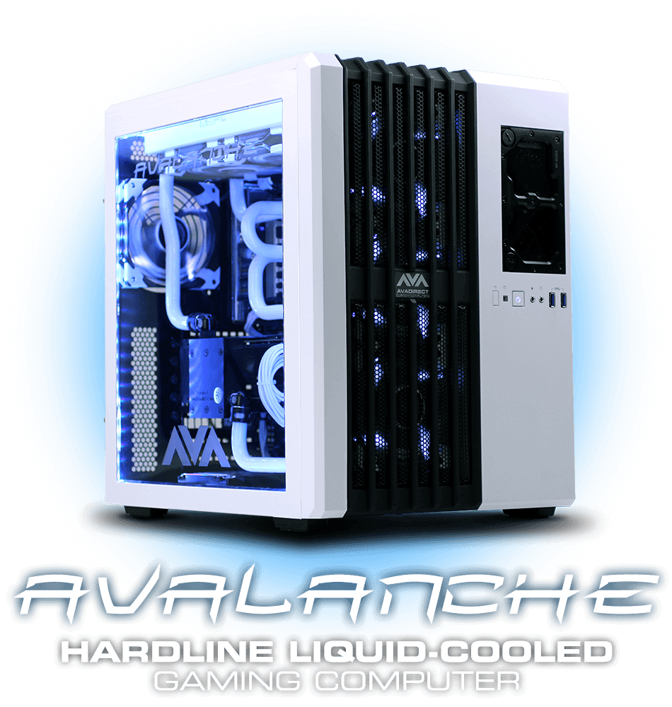 Liquid Cooled Gaming Computer Water Cooled Computer