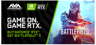 Buy a GeForce RTX Graphics Card or System and get Battlefield V.