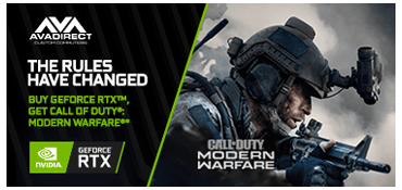 Buy GeForce RTX or GeForce RTX SUPER, Get Call of Duty: Modern Warfare