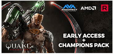Free Champions Pack for Quake Champions (Valued at $29.99)