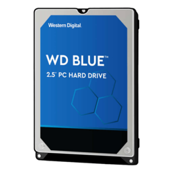 500GB Blue WD5000LPCX, 5400 RPM, SATA 6Gb/s, 16MB cache, 2.5-Inch HDD