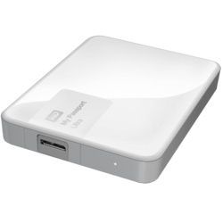 1TB My Passport Ultra, USB 3.0, Premium Portable, White, External Hard Drive