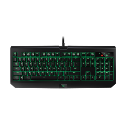 BlackWidow Ultimate, LED Illumination, Razer Green / Razer Orange Switch, Macro Keys, Wired USB, Black, Retail Mechanical Gaming Keyboard