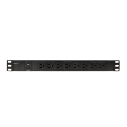CP-PD108, 8 Outlets, 10-ft cord, Black, Power Distribution Unit