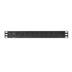 CP-PD116, 16 Outlets, 12-ft cord, Black, Power Distribution Unit