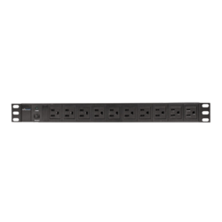 CP-PD110, 10 Outlets, 10-ft cord, Black, Power Distribution Unit