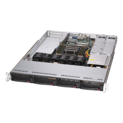 1U Rack Server - Supermicro A+ Server 1014S-WTRT, AMD EPYC™ 7002 Series Processor, SAS/SATA/NVMe, 1U Rackmount Server Computer