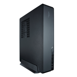 Node Series 202, No PSU, Mini-ITX, Black, HTPC Case