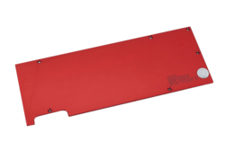 EK-FC Titan X/GTX980 Ti Backplate - Red
