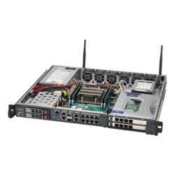 1U Rack Server - Supermicro SuperServer 1019D-16C-FHN13TP Intel® Xeon® D-2183IT Processors SATA 1U Rackmount Server Computer