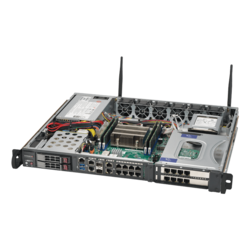 1U Rack Server - Supermicro SuperServer 1019D-4C-FHN13TP Intel® Xeon® D-2123IT Processors SATA 1U Rackmount Server Computer