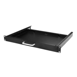 WA-KBR-1U 1U Compact Sliding Keyboard Tools Drawer