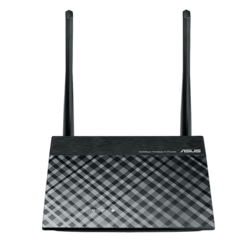 RT-N300, IEEE 802.11b/g/n, 2.4 GHz, 300 Mbps, 5xRJ45, Retail Wireless Router