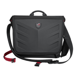 "ROG Ranger Messenger 15.6"", Ballistic Nylon-Rubber, Black, Bag Carrying Case"