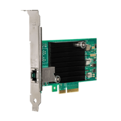 10Gbps Ethernet Converged Network Adapter, X550-T1, (1x RJ45)