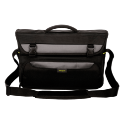 "City Gear TCG270 15-17.3"", Poly/PU, Black, Bag Carrying Case"