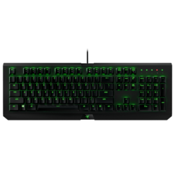 BlackWidow X Ultimate, LED Illumination, Razer Green / Cherry MX Blue Switch, Wired USB, Black, Retail Mechanical Gaming Keyboard