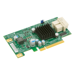 AOC-SLG3-2E4 6.4Gb/s NVMe PCIe 3.0 2-Port Host Bus Adapter