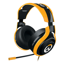 ManO'War Tournament Edition, 3.5mm, Black/Yellow, Overwatch Gaming Headset