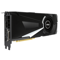 GeForce GTX 1070 AERO 8G OC, 1531 - 1721MHz, 8GB GDDR5, Graphics Card