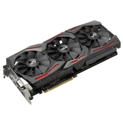 GeForce GTX 1070 ROG STRIX-GTX1070-8G-GAMING, 1506 - 1721MHz, 8GB GDDR5, Graphics Card