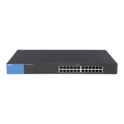 LGS124P, 24 x RJ45, 10/100/1000Mbps, Ethernet PoE+ Switch Retail