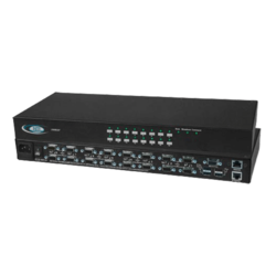 UNIMUX High Density VGA USB KVM Switch with Optional Additional Transparent USB Connectors