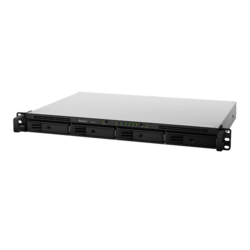 RackStation RS816 1U NAS Server, Marvell Armada 385 88F6820, 1GB DDR3, SATA3 / 4, GbLAN / 2, 150W PSU