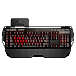KM780 Series RIPJAWS KM780 MX, Red LED Illumination, Cherry MX Brown Switch, 6 Macro Keys, 12 Function Keys, Wired USB, Black, Retail Mechanical Gaming Keyboard