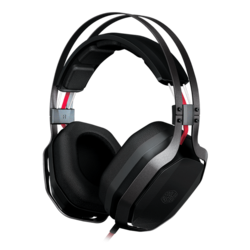 MasterPulse, Over Ear w/ Bass FX, 3.5mm, Black, Gaming Headset