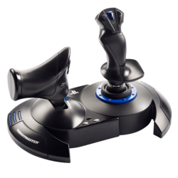 T.Flight Hotas 4, Flight Simulator, Wired USB, Black, Retail Joystick