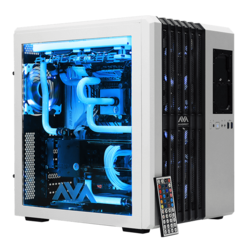 Gaming Desktop - Avalanche II Hardline Liquid Cooled Gaming PC