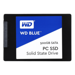 500GB WD Blue WDS500G1B0A 7mm, 545 / 525 MB/s, TLC, SATA 6Gb/s, 2.5-Inch Retail SSD