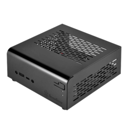 Vital Series SST-VT01B, No PSU, Black, Compact Mini-STX Case