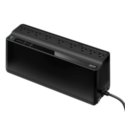 Back-UPS BE850M2, 850VA/450W, AC 120V Input/Output, 9 Outlets, Black, Tower UPS
